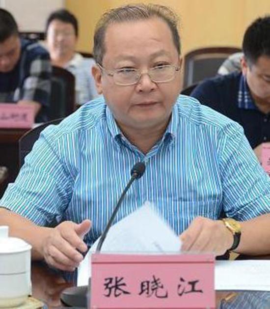 武隆区政协原党组书记、主席张晓江