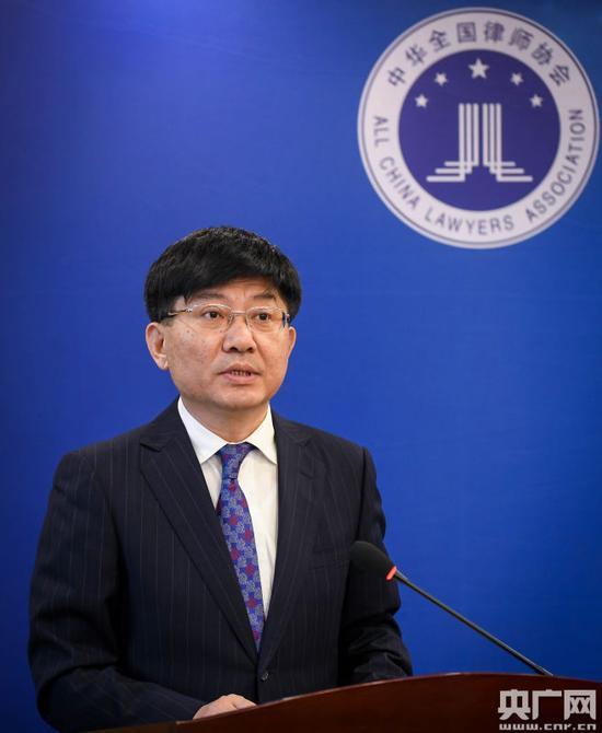 全国律协新闻发言人蒋敏