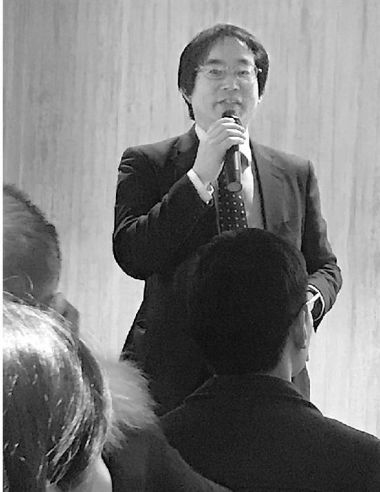 徐静波在杭州的读者见面会上。