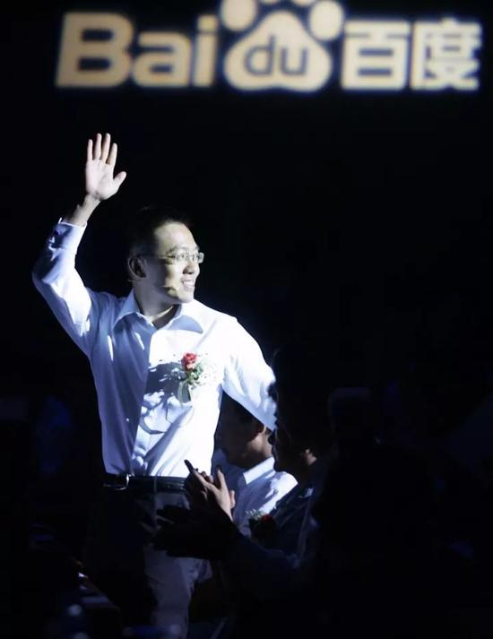 ▲2009年8月18日,北京,百度召开2009创新技术大会,时任百度首席技术官的李一男。图据东方IC
