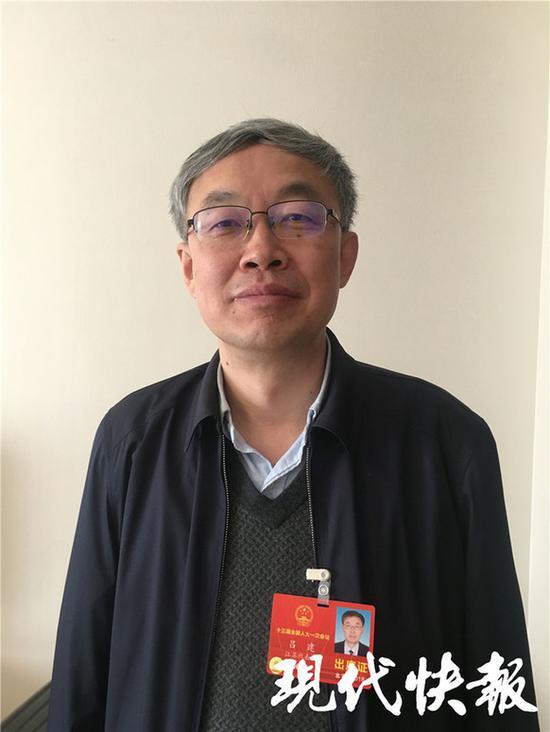 全国人大代表、南京大学校长吕建