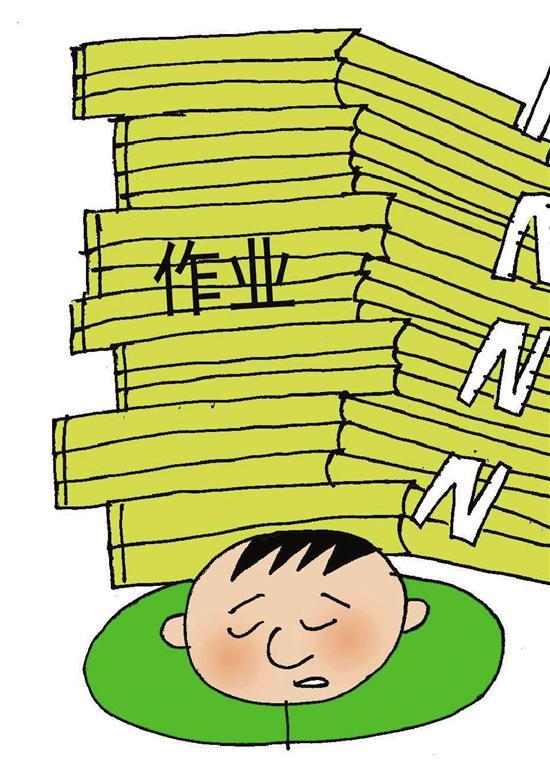 快三走势图今天:杭州两城区新规:初中生作业10点做不完可以不做