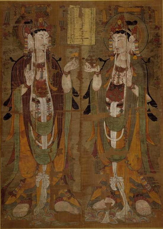 大英博物馆藏敦煌壁画