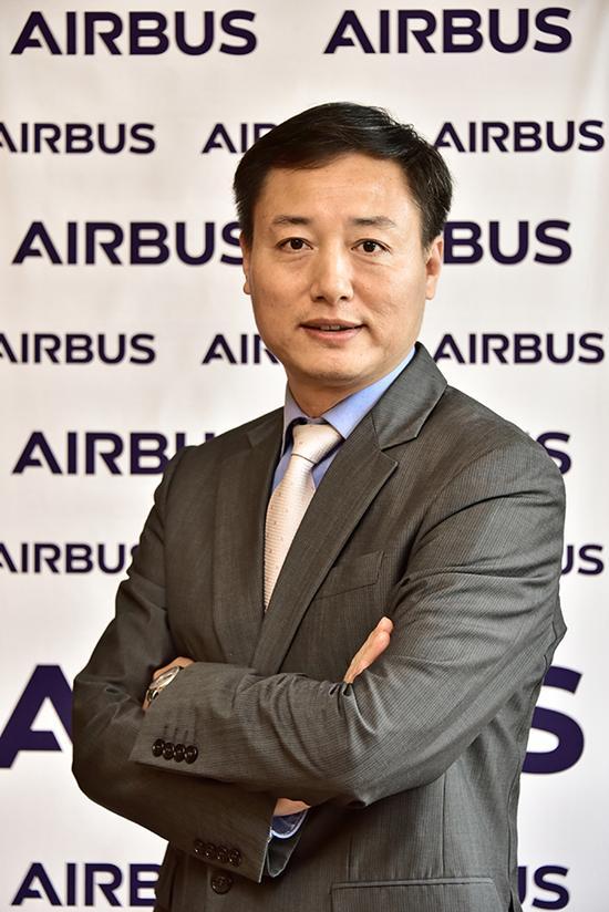 空中客车中国公司首席执行官徐岗