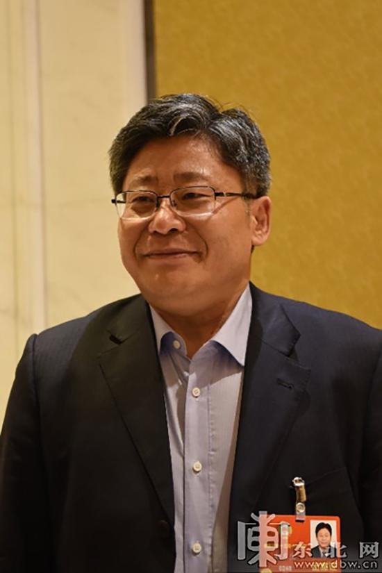 全国政协委员、黑龙江省副省长孙东生 东北网 图