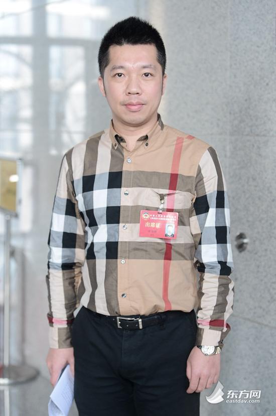 上海中医药大学附属岳阳中西医结合医院肿瘤科主治医师、谢国群委员。(图片来源:东方网)