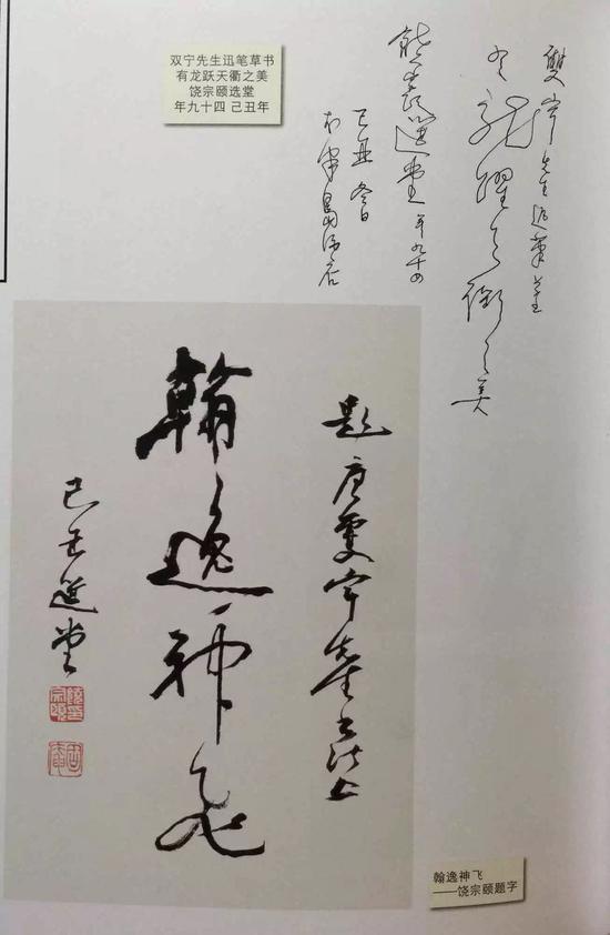 饶宗颐先生题字