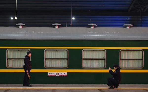 2018春运大幕开启 北京站发出首趟临客