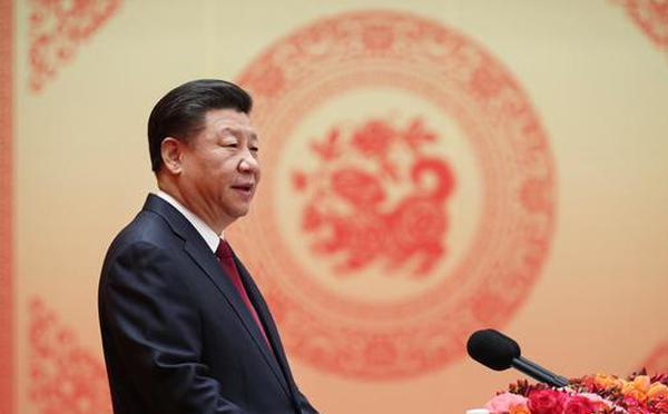 习近平在2018年春节团拜会上的讲话