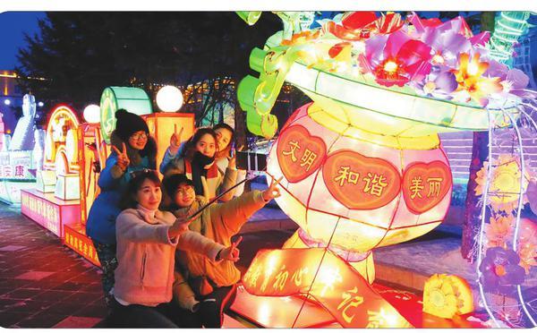 新龙江的春节时光