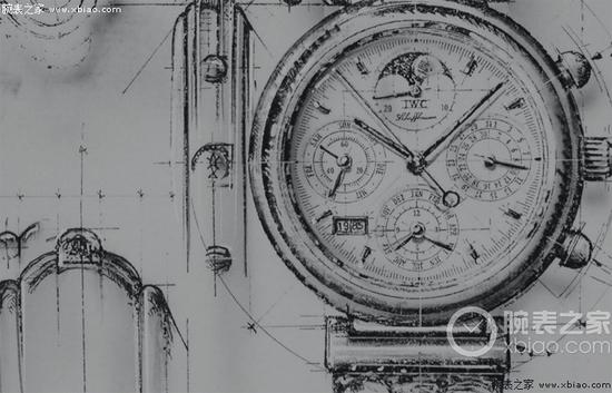 IWC萬國表達文西3750型腕錶