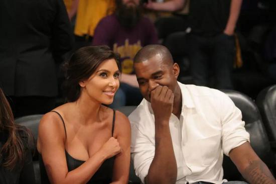 Kim和Kanye是天造地设的一对,两人想法永远一致。