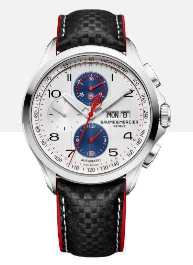 名士克里顿系列 Club Shelby Cobra,计时码表的小秒针尾部被设计成响尾蛇