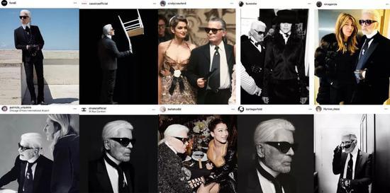 ins上,Karl的合作伙伴们纷纷发文悼念,讲述着属于他们和Karl的故事。