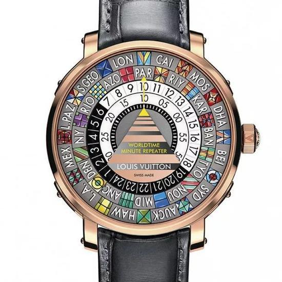 路易威登Escale世界时三问腕表