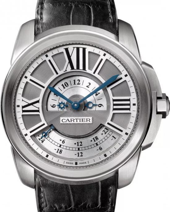卡地亚Calibre de Cartier多时区腕表