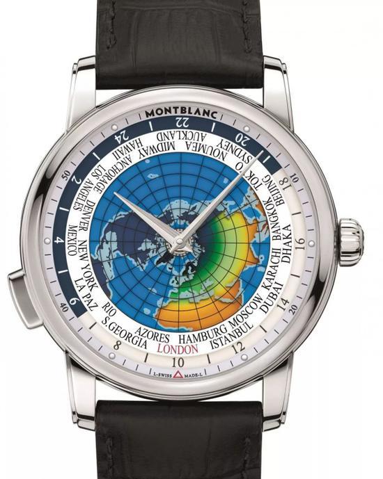 万宝龙4810系列寰宇世界时腕表