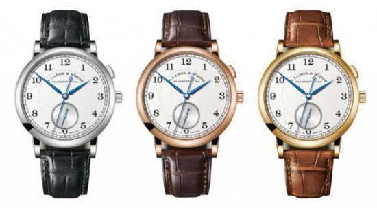 朗格1815 纪念WalterLange特别版机械腕表,秒针每秒前进一步。