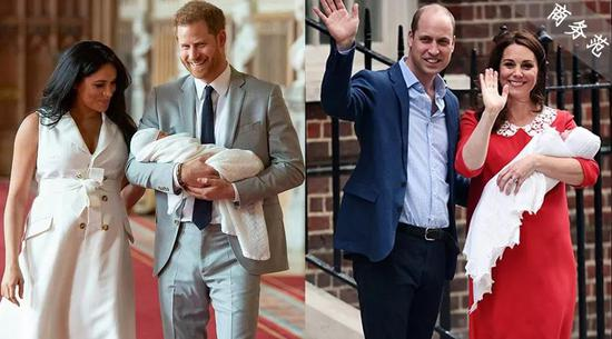 """实打实的规矩""""破坏者""""?哈里、梅根携子亮相梅根哈里英国王子"""