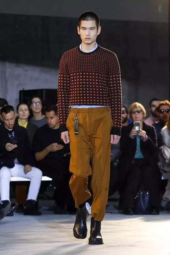 Hermes Menswear Fall Winter 2018
