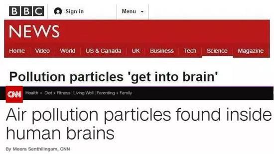 BBC和CNN报道截图
