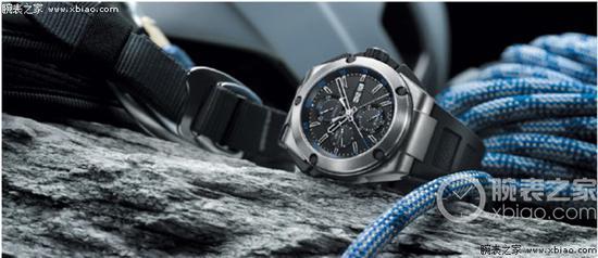 1980年,IWC萬國表推出首款鈦金屬計時腕錶