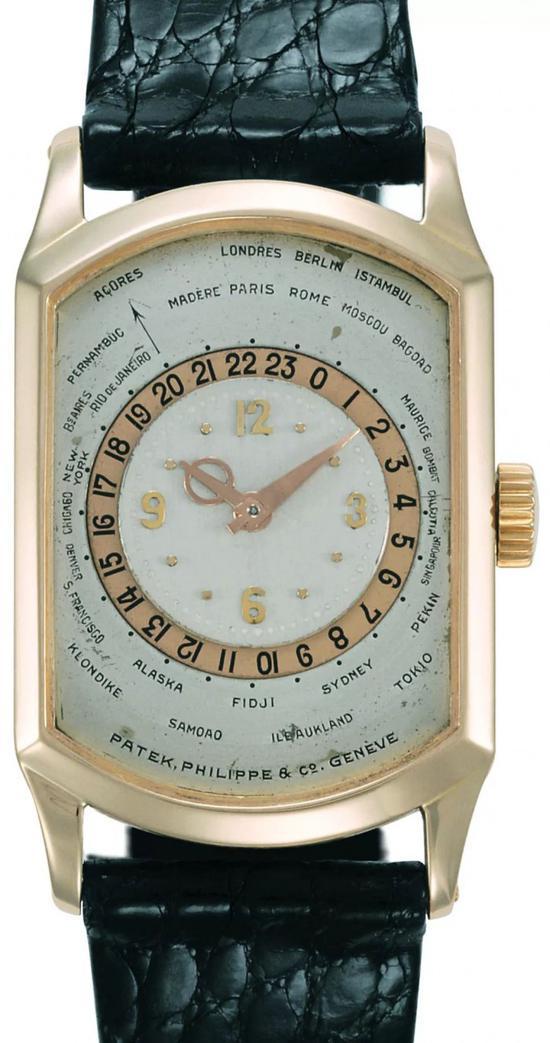 百达翡丽世界时间系列P-938腕表,1937年