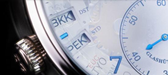 格拉苏蒂原创议员系列世界时腕表