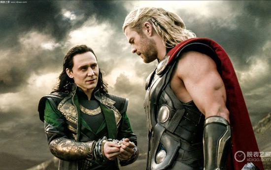洛基和雷神