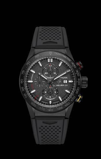 泰格豪雅卡莱拉系列 Heuer 01 CLEP特别款腕表