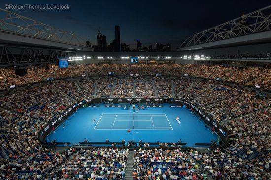 罗德?拉沃竞技场,2019年澳大利亚网球公开赛?Rolex Thomas Lovelock