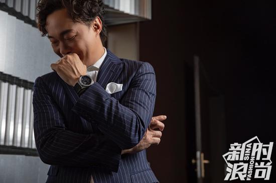 真力时全球代言人陈奕迅亦亲身演绎DEFY创想家腕表的先锋魅力