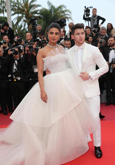 朴雅卡·乔普拉(Priyanka Chopra)与尼克·乔纳斯(Nick Jonas)夫妇