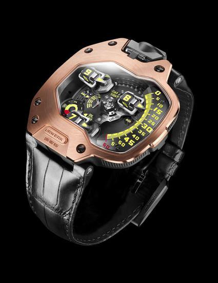 小罗伯特·唐尼佩戴的Urwerk UR-110RG腕表