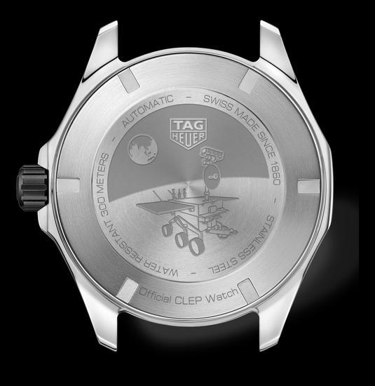 泰格豪雅竞潜系列Calibre 5 CLEP特别款腕表表背