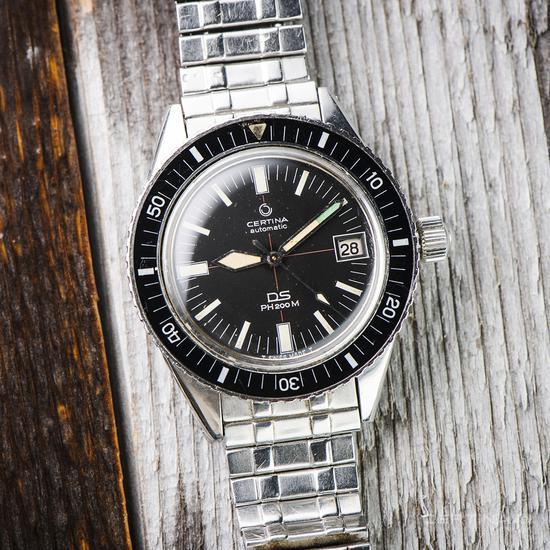 初代雪铁纳DS PH200M腕表