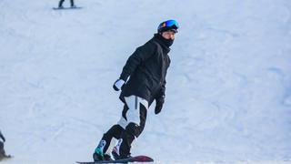 白宇花11塊買自己滑雪照