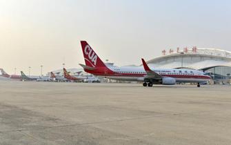 通航80城,白塔国际机场运力显著提升