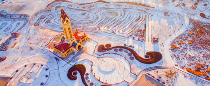 冬季内蒙古风光:春节假期就得这么玩儿