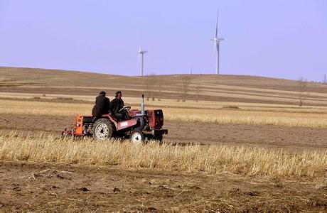 内蒙古300万亩小麦播种进入高峰
