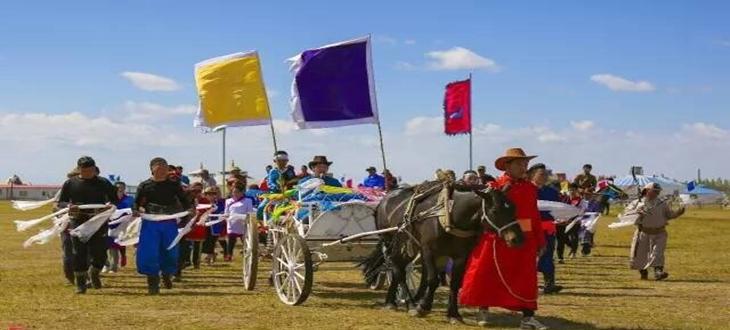 满洲里市敖尔金区第四届蒙元文化节隆重召开