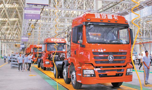 陕汽乌海公司新产品受青睐