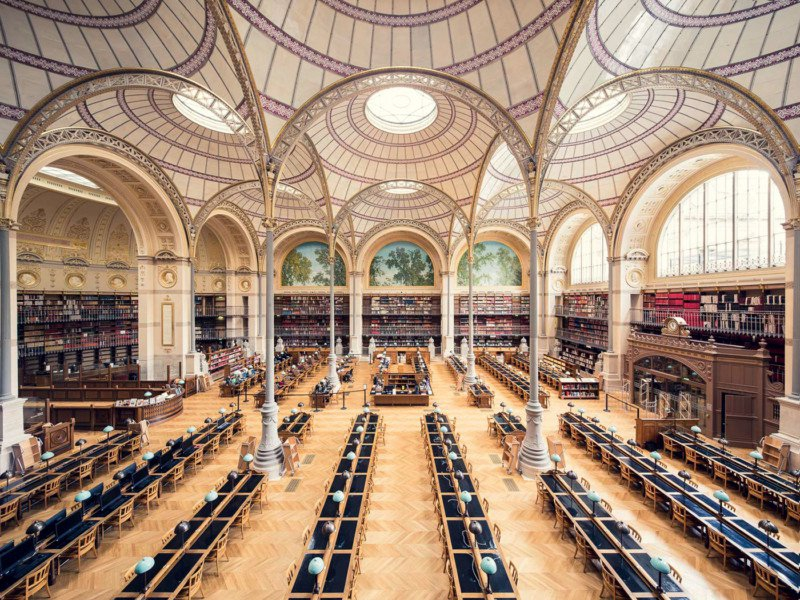 沉浸书海世界 欧洲最美图书馆之旅