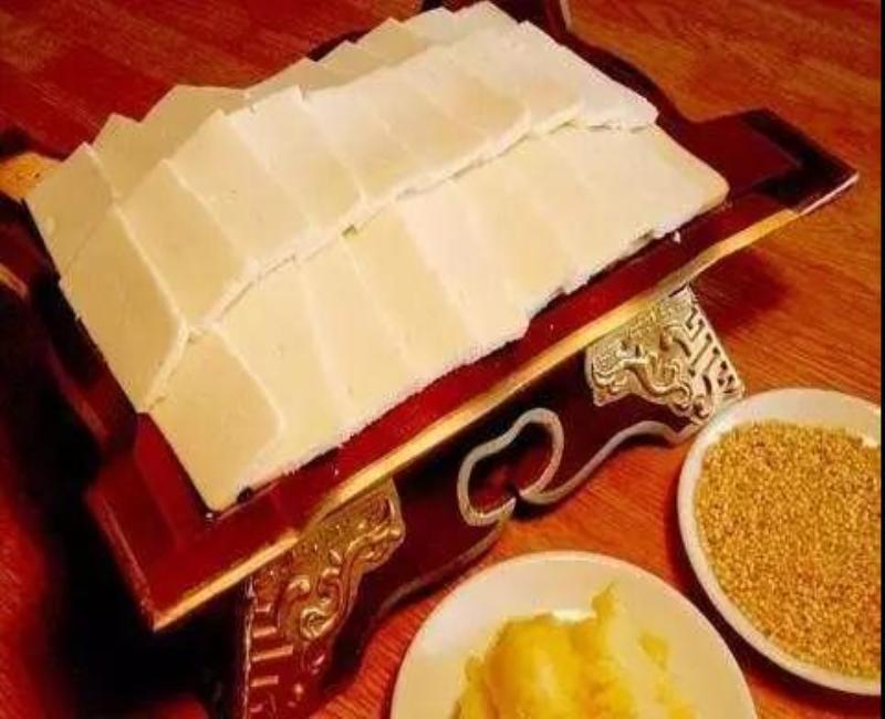 浓浓奶香味 蒙古族白食