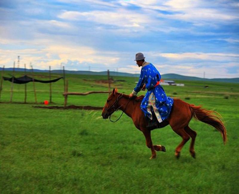 这个国庆一起去内蒙古天堂草原