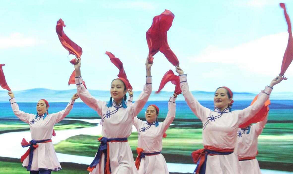【舞动内蒙古】欢乐草原•健康内蒙古