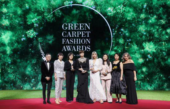 绿毯时尚颁奖盛典鄂尔多斯摘得绿毯时尚大奖