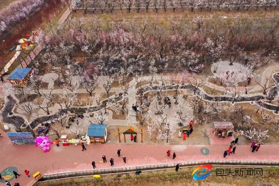 土右旗第五届杏花旅游文化节在沟门镇大雁滩景区举行