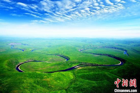 图为内蒙古大兴安岭北部原始林区。内蒙古森工集团供图