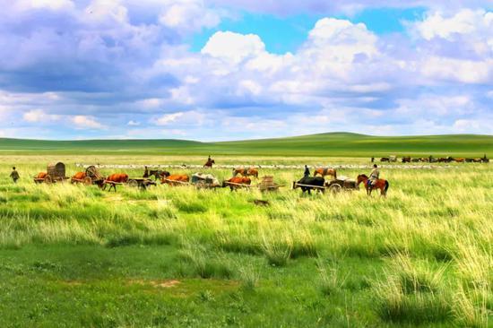 爱上内蒙古    诗词中的锡林郭勒盟打卡地